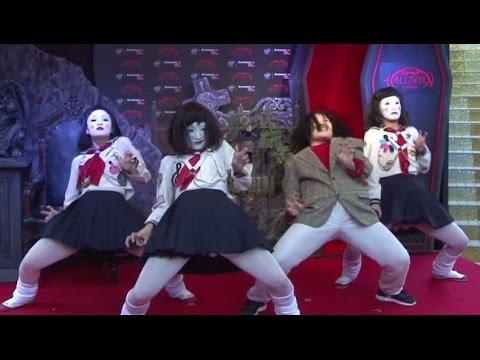 """日本エレキテル連合?がキレキレの""""ホラー""""ダンスを披露!「Lenovo Presents SHIBUYA HALLOWEEN 2014」シブハロ2014(1) #SHIBUYA HALLOWEEN"""