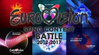 Eurovision BATTLE | 2012 vs 2013 vs 2014 vs 2015 vs 2016 vs 2017