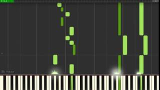 The Fugue Praise be to My Master Synthesia Tutorial