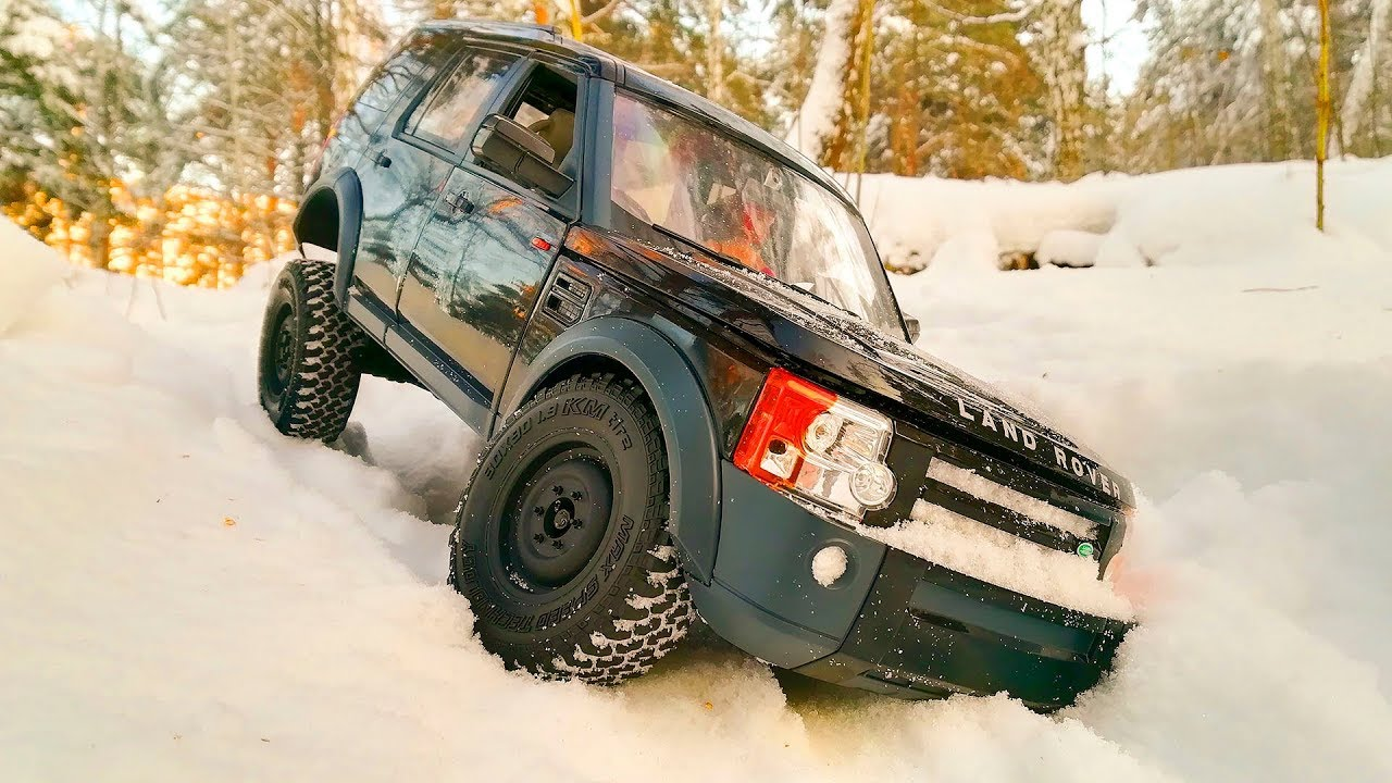 RC Car Land Rover Discovery 3 LR3 MST CFX 4x4 Snow OFF