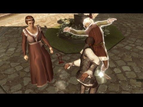 A Woman Scorned: Ezio Beats Unfaithful Husband in Florence (Assassin
