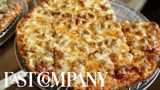 Chicago Pizza Is Not Deep Dish! | You Have To See This