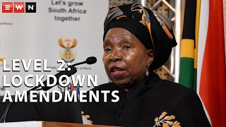 Cooperative Governance and Traditional Affairs Minister Dr Nkosazana Dlamini-Zuma on Monday said that with the imminent relaxation of lockdown regulations under level 2, South Africans needed to remain vigilant because the COVID-19 pandemic had not yet been defeated.