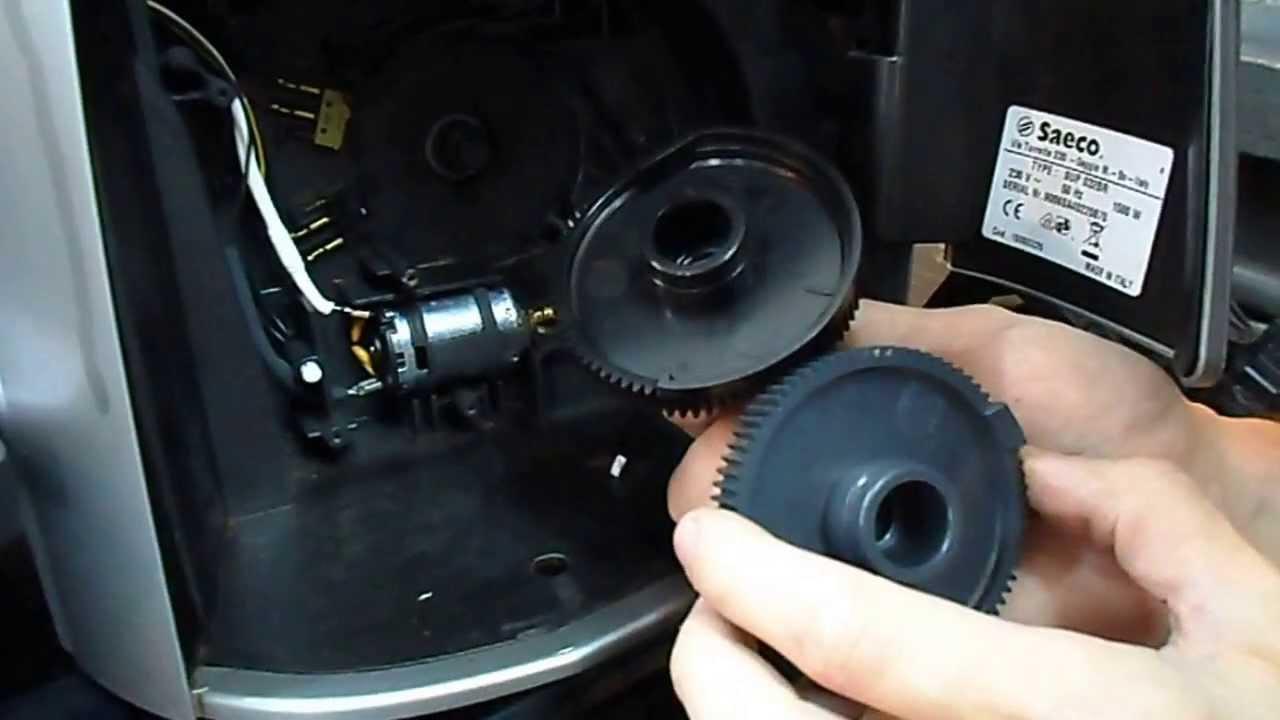 Talea Odea SAECO Pièces-Brew Drive Gears Set pour ratiomotor P124 Pour Primea