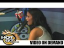 HOT 97- Angie interviews Cassie
