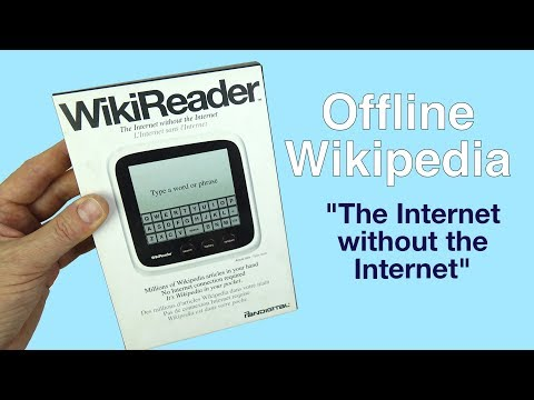 "WikiReader - Offline Wikipedia   ""The Internet without the Internet"""