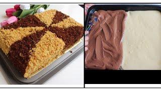 🌷ENG OSON USULDA KUN TUN TORT KAMHARJ ODDIY / Самый лёгкий способ готовить торт день-ночь