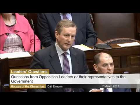 "Enda Kenny hits out at Tuam ""chamber of horrors"""