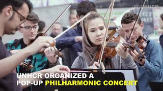 Sweden: Music is bridge to integration for refugee children