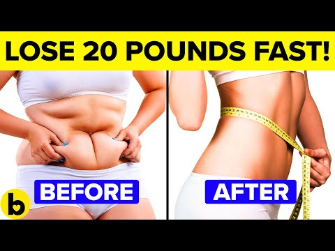 9 Healthy Ways To Lose 20 Pounds Quickly