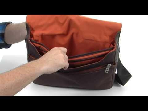 0f19434489c5 KNOMO London Kinsale Small Messenger Laptop Bag SKU  8301199 - YouTube