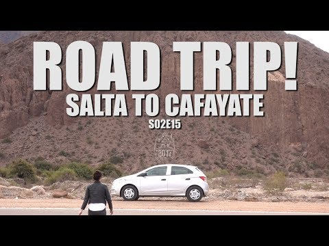 Cafayate, Argentina | Driving on the wrong side of the road! | South America Travel Vlog E15