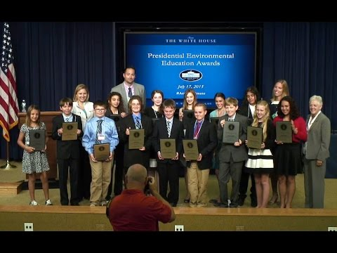 The White House 2015 Environmental Student and Teacher Awards