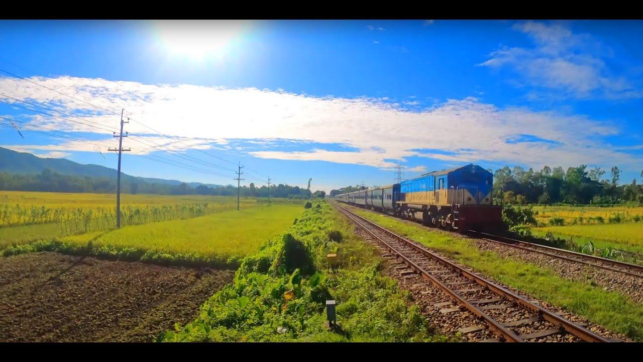 Hill And Train || Bangladesh Railway || Sitakunda || Sagarika Express