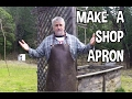 How To Make A Shop Apron Without Sewing