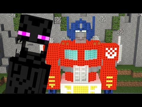 Monster School: Build Battle - Minecraft  Animation