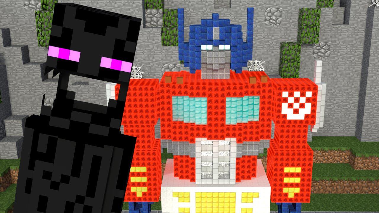 Monster School Build Battle Minecraft Animation Youtube