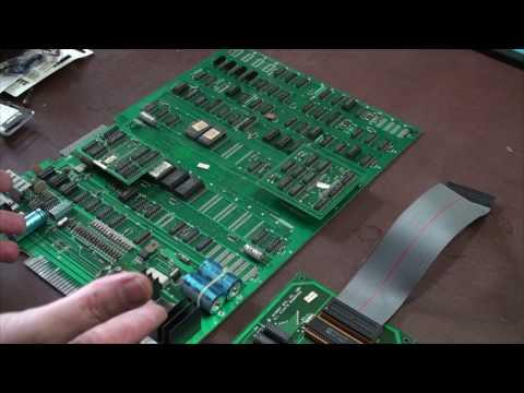Arcade games and electronics repair basics