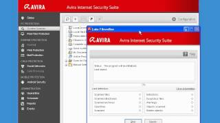 Working with Avira Internet Security Suite