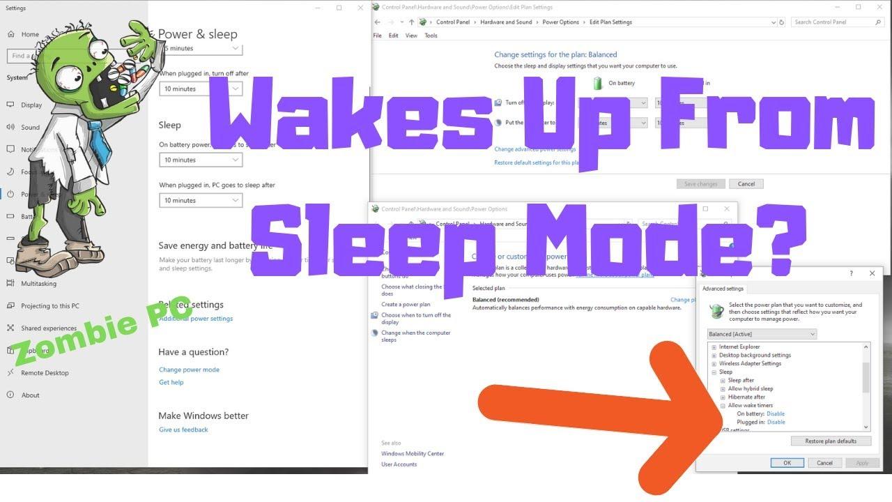 PC Wakes Up From Sleep Mode Randomly (Windows 10 FIX ...