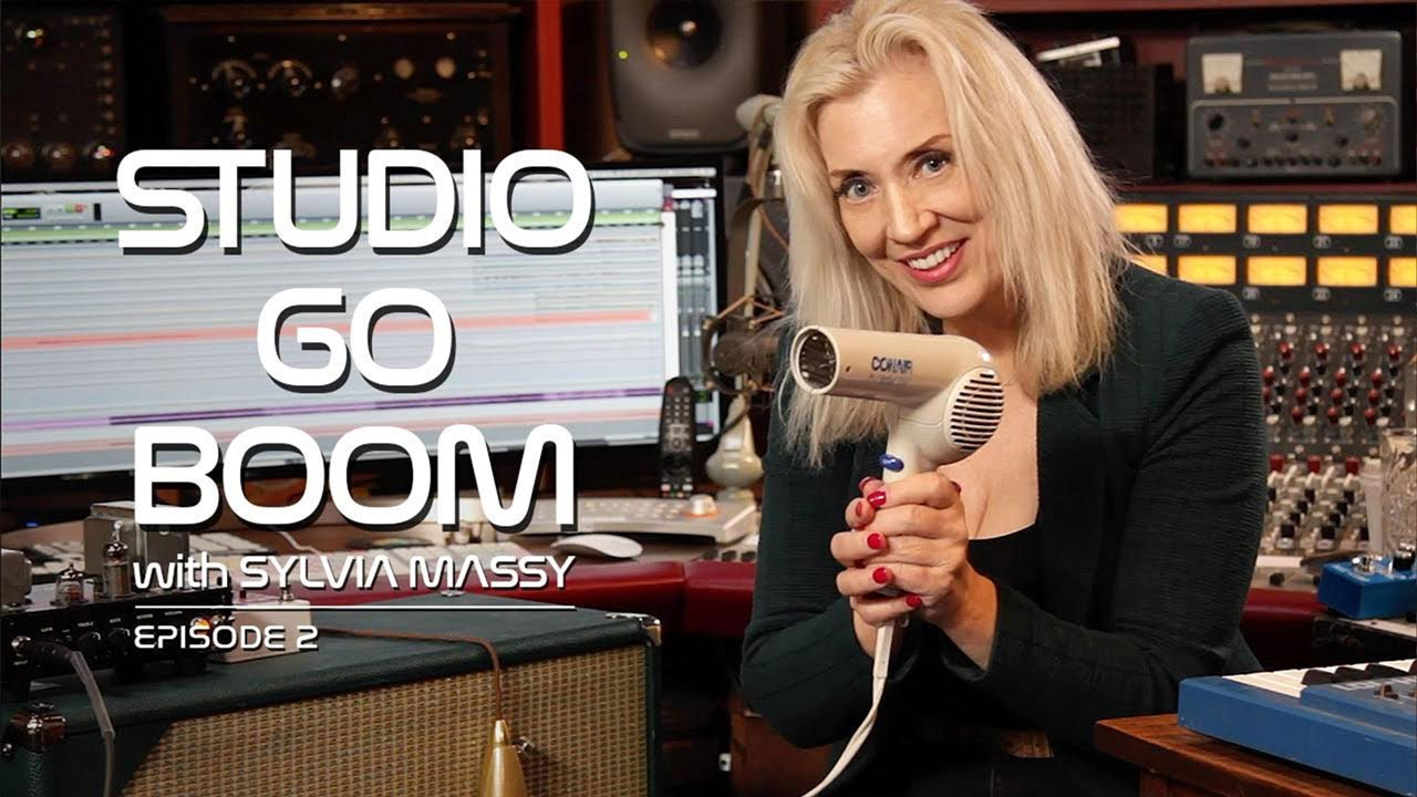 Studio Go Boom Ep. 2 feat. Sylvia Massy (Germanium Transistors) | EarthQuaker Devices