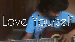 Love Yourself-Justin Bieber(Acoustic Guitar Cover by Vignesh Ramesh)