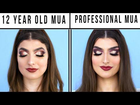 12 Year Old Makeup Artist Vs. Professional Makeup Artist
