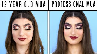 Download 12 Year Old Makeup Artist Vs. Professional Makeup Artist Mp3 and Videos