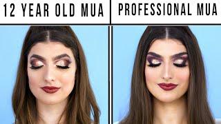 Makeup - 12 Year Old Makeup Artist Vs. Professional Makeup Artist