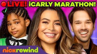 🔴LIVE: 24 Hours iCarly Marathon 📹📱🍝🌮