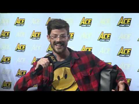 Grant Gustin: The Flash Panel with Kevin Smith  ACE Comic Con Seattle
