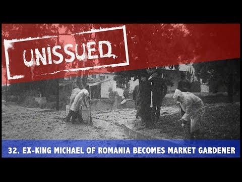 Unissued Nº32 - Ex-King Michael Of Romania Becomes Market Gardener (1953)