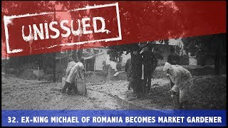 Ex-King Michael Of Romania Becomes Market Gardener (1953) | Unissued Nº32 | British Pathé