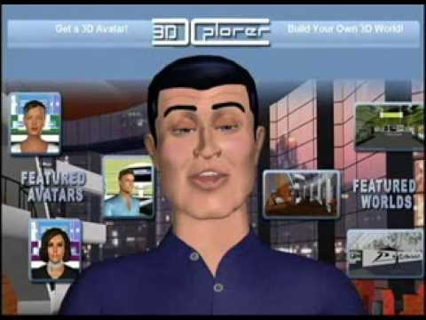3DXPlorer: Virtual Worlds Los Angeles 2008 - web3D