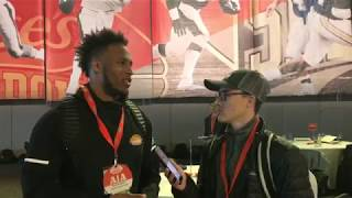 Interview with North Dakota State RB Bruce Anderson III at Reese's Senior Bowl