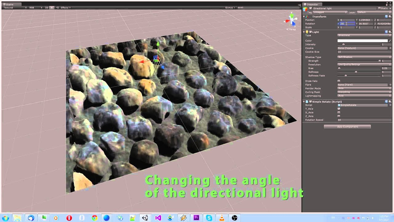 Parallax Occlusion Mapping Unity3D