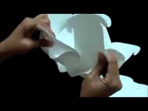Lampada Origami Istruzioni : Lampada romantica elemente youtube