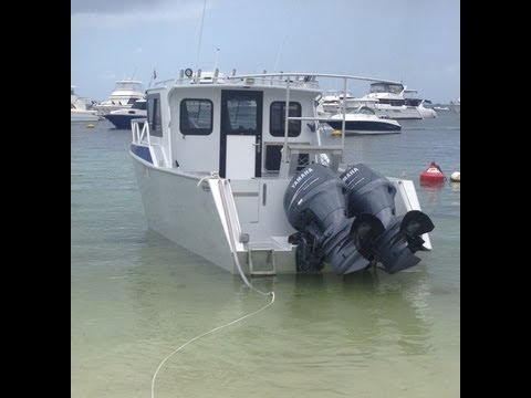 2008 Oceanic Aluminium Fishing Boat For Sale