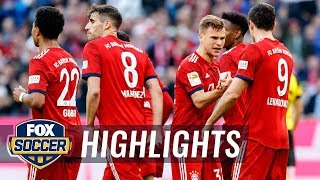90 in 90: Bayern Munich vs. Borussia Dortmund | 2019 Bundesliga Highlights