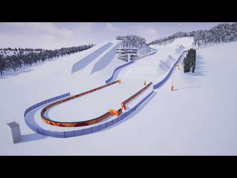 PyeongChang 2018 Olympic ski and snowboard cross course preview   FIS Freestyle Skiing