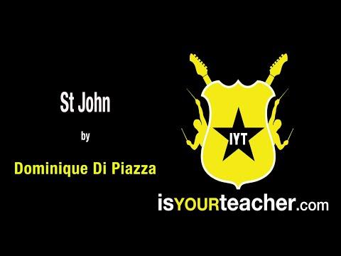 Teaser Dominique Dipiazza St John