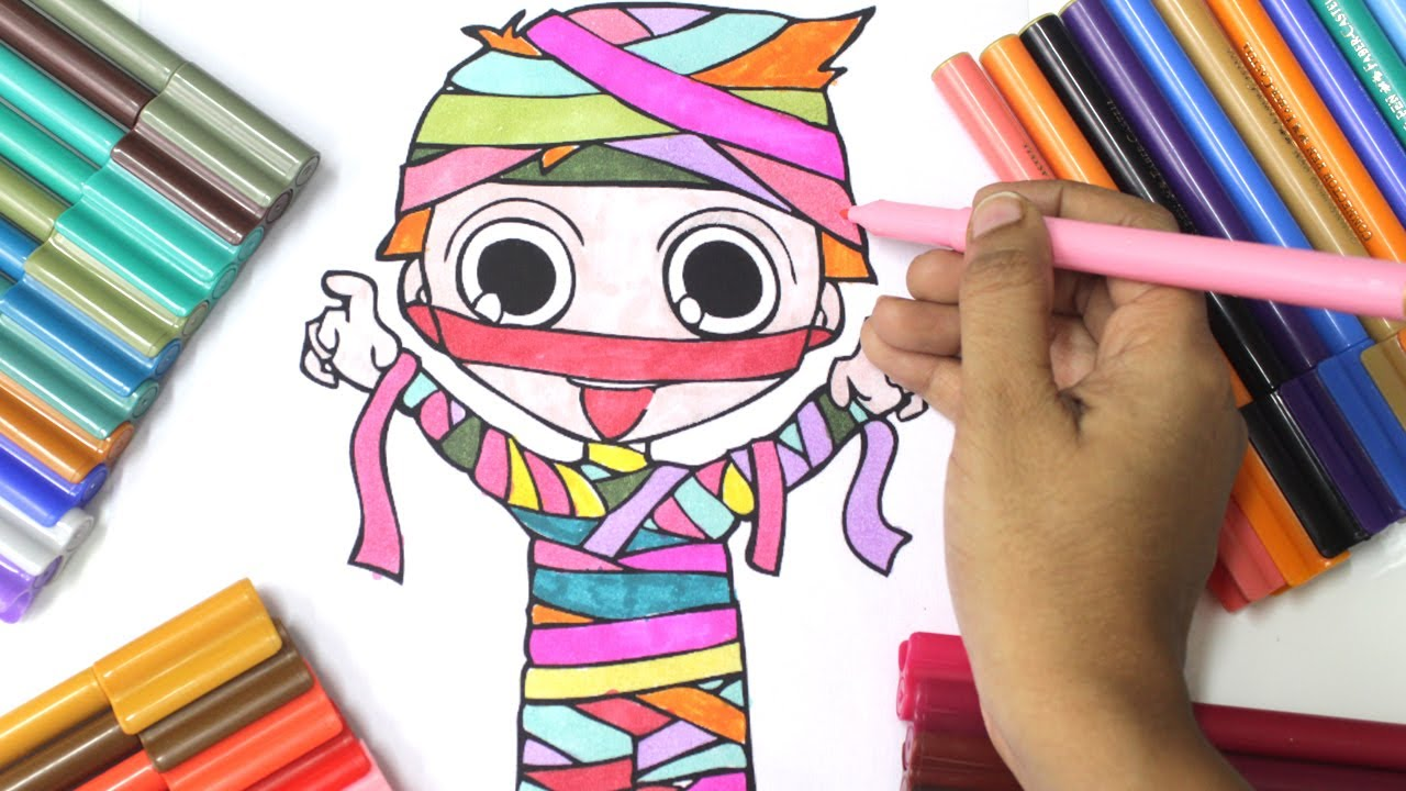halloween coloring pages for kids halloween coloring pages youtube