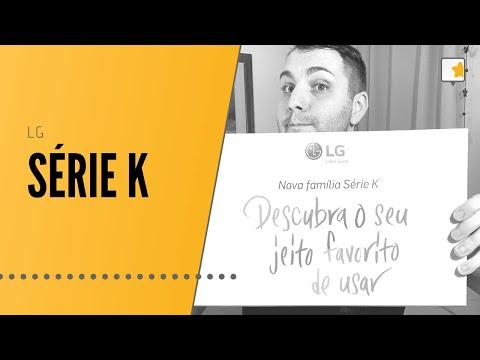 Lançamento: Nova Série K da LG