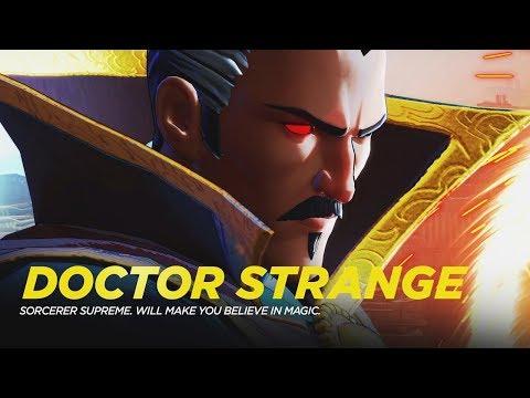 Marvel Ultimate Alliance 3 The Black Order - Doctor Strange Boss Fight - 동영상