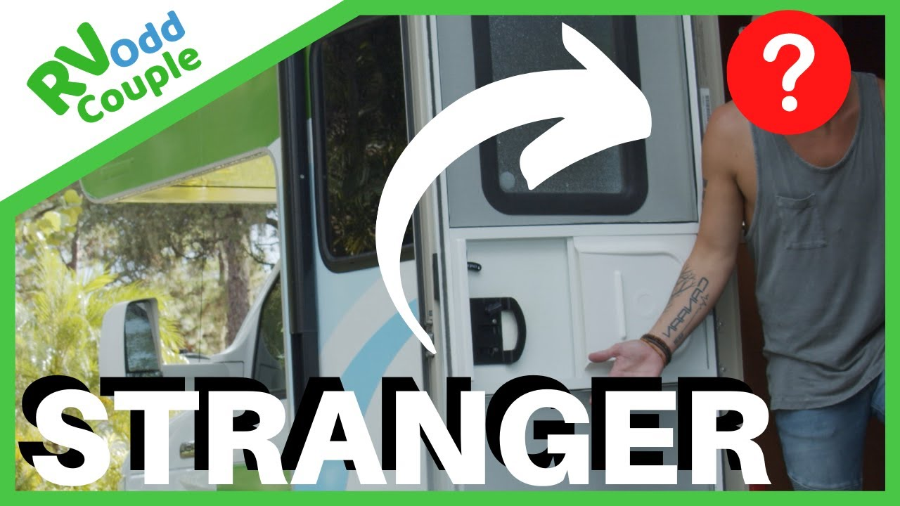 There's a Stranger in my RV! Story of Meet-Up in a Storm