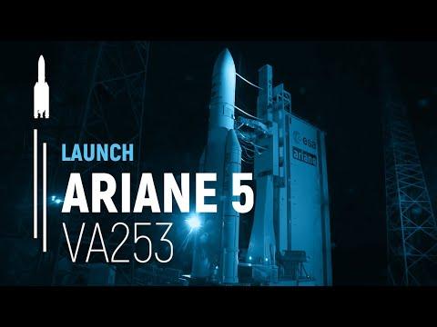 Arianespace Flight VA253  Galaxy 30 / MEV-2 / BSAT-4b (EN)