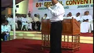 Malayalam Christian Sermon: Stir Up the Inner Strength by Pr. K.C.John