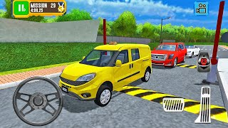 Fiat Fiorino Compact Van Driving - Truck Driver: Depot Parking Simulator - Android Gameplay