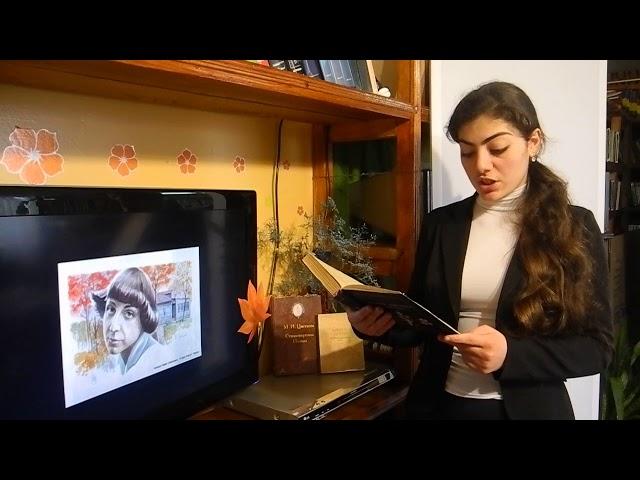 Изображение предпросмотра прочтения – ФерузаХасанова читает произведение «Уж сколько их упало в эту бездну...» М.И.Цветаевой