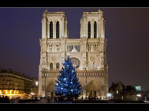 Christmas service at Notre Dame cathedral - YouTube
